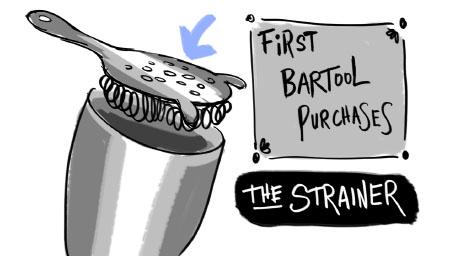 bar tool strainer